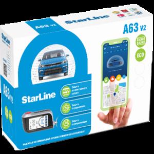 StarLine А63 v2 2CAN+2LIN ECO коробка