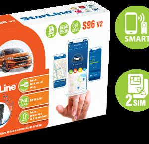 StarLine S96 v2 2CAN+4LIN 2SIM GSM коробка